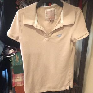 Women's Hollister polo shirt euc size small
